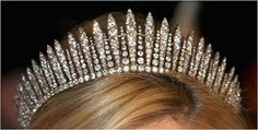 The Royal Order of Sartorial Splendor: My Ultimate Tiara Collection: Princess Marie-Chantal's Fringe Tiara