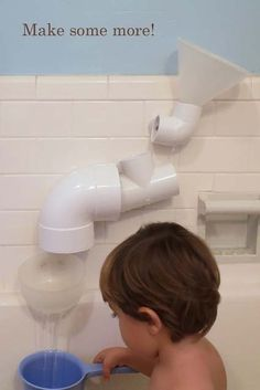 Re.Think.It! Some real DIY kids fun!  You probably won't get your kids out of the bath all weekend! ;-)