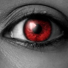 me eyes turn blood red.I still have green eyes.I'm te only Reaper who can do tat Vampire Eyes, Beautiful Eyes Color, Red Contacts, Anime Lips, Dark Princess, Tribal Warrior, Wolf Spirit Animal, Aesthetic Eyes, Arte Obscura