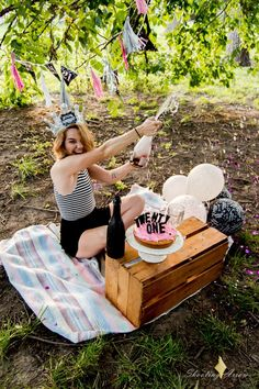 Adult smash cake Shooting Arrow Photography