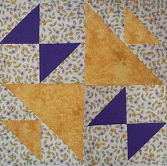 Starwood Quilter: Old Maid's Puzzle Quilt Block
