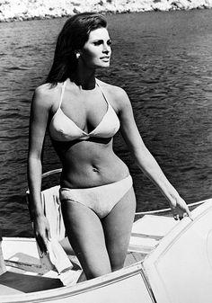The Bathing Suits Your Favorite Style Icons Wore via @WhoWhatWear