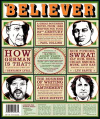 NOVEMBER 2004  The cover depicts, clockwise from the top left, Walter Abish, Buddy Bolden, David O. Russell, and August Wilson. Cover illustrations: Charles Burns!