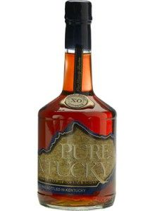 Pure Kentucky XO Small Batch Straight Bourbon #Whiskey.  Aged about twelve years and bottled at a robust 107 proof, this #bourbon won the Double Gold Medal at the San Francisco World Spirits Competition. | @Caskers