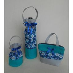 Gift Bag sweets candles Blue rings blue Mens Womens Gifts Mother Girl