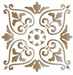 Artesanato.net Stencil Patterns, Cross Patterns, Stencil Designs, Stencils, Stencil Art, Cnc Cutting Design, Clay Stamps, Different Art Styles, Tile Projects
