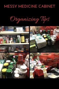 My love affair with #DollarTree containers is no secret. I am obsessed with them! So because I've been on a mission to clear out the clutter in every part of my house the past few weeks, I made sure I have enough container ready. First stop? Our Messy Medicine Cabinet! :) #organizingideas #organizingtips #medicinecabinet