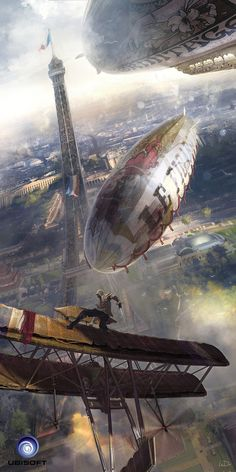 Zeppelin, Ludovic Ribardiere on ArtStation