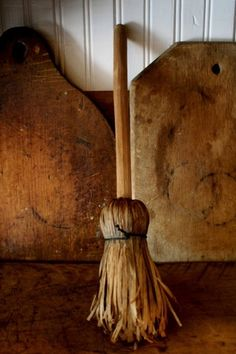shaved broom