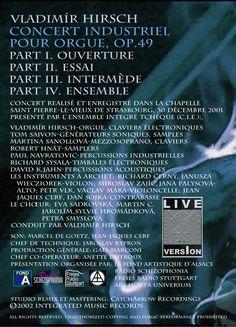 Concert industriel premier live DVD