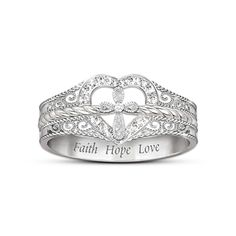 Blessed Inspiration Diamond Ring---would so love to wear this ring---expression of my love for my LORD and SAVIOR!!!!
