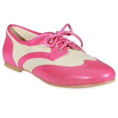 Jigsaw - Fuchsia  Menswear Inspired Lace-Up Oxford: I want oxfords but they are so expensive and I can not find any!