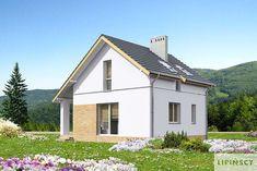 Zobacz powiększenie wizualizacji ogrodowej - projekt Stamford Stamford, Shed, Outdoor Structures, Mansions, House Styles, Outdoor Decor, Home Decor, Decoration Home, Manor Houses
