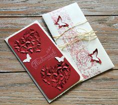 Karte zum 40. Hochzeitstag: Rubinhochzeit. Zuerst gebloggt auf Leben am Rande der Zivilisation.