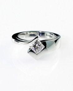 Contemporary Unique Engagement Ring Designs 45