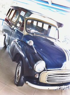 """The oplet has been operating in jakarta since 1930. The oplet is a public transport vehicle that originated from Morris sedans, a UK brand with a tire that haa been modified.  Take Picture from """"Museum Transportasi"""". JAKARTA, INDONESIA"""