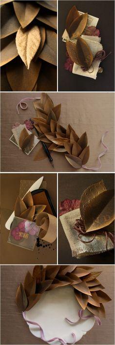 leaves crafts