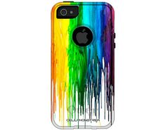 Otterbox Commuter Melting Wax Case for Apple iPhone 5/5S - W-609 on Etsy, $45.99