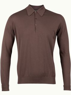 John Smedley Finchley Long Sleeve Polo Shirt - Vintage Plum - Available to buy at http://www.afarleycountryattire.co.uk/product-tag/john-smedley-finchley-long-sleeve-polo-shirt/ #johnsmedley #mensfashion #poloshirt #afarleycountryattire