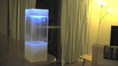 Tempescope, a box of rain in your living room Tempescope is a physical weather display that visualizes the weather by actually reconstructing the weather conditions inside a box. http://tempescope.com-