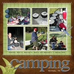 Camping - Two Peas in a Bucket