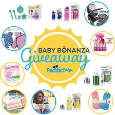 Enter the Summer Baby Bonanza hosted by Pacific Baby to win great prizes for baby and a chance at a $40 Venus gift card!