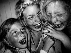 laughing is good!