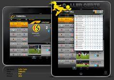 Turkcell Goller Cepte iPad Application