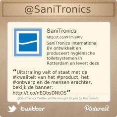 Uitstraling valt of staat met de #kwaliteit van het #product, het #ontwerp en de mensen erachter, bekijk de banner: pic.twitter.com/nEQbsDNtOS