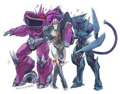 #shockwave #starscream #soundwave #transformers #prime #tfp