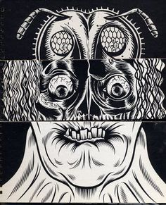 Image result for Gary Panter.
