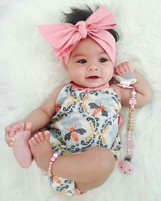 Cute little outfit with headband.