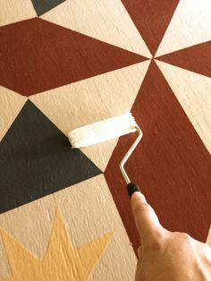 How to make a Barn quilt square | lovethegiver.com