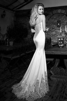 55 vestidos de noiva com decote nas costas - Decote ousadíssimo! Uh, lá, lá!