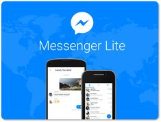 If You're Not Into Messenger's Fancy Features, Get Messenger Lite If you're an iPhone user, look away now, as you'll read how great. Facebook Messenger, Application Facebook, Web Design, Facebook News, Latest Facebook, Be With You Movie, Social Media Trends, App Development Companies, Chat App