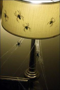 DIY Halloween : DIY Scary Spiders : DIY Halloween Decor