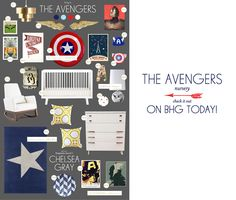 Lay Baby Lay: the Avengers Nursery on BHG.... oh man it better be a boy bc daddy would freak over this room