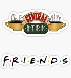 Pegatina Friends Show Pack (STICKER 2PACK)