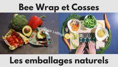 """Les meilleures alternatives à l'aluminium et au film alimentaire sont l'emballage alimentaire naturel et réutilisable """"Bee Wrap"""" et Cosses. Mais qu'est ce dont vraiment ? Quels en sont les avantages et inconvénients ? Comment les utiliser et les entretenir ? Quelle est la différence entre ces deux produits ? Et enfin, pourquoi ai-je privilégié des marques fabriquées en France comme #Embalvert ?"""