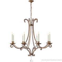 high end lighting fixtures. Visual Comfort E. Chapman Chandelier Gilded Iron W/ Crystal. Find This Pin  And More On Bargain High End Lighting Fixtures High End Lighting Fixtures
