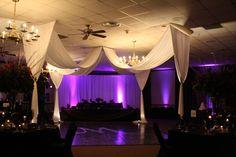 Dance Floor Drape at Smyrna TownCentre