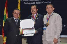The Organization of the Americas for Educational Excellence (ODAEE), through two universities -- the College of Graduate Studies of Mexico City and the Catholic University of Cuenca in Ecuador -- have conferred a Doctor Honoris Causa/Honorary Degree upon Jaime Gomez, interim dean of the School of Education and Professional Studies and the Graduate Division.