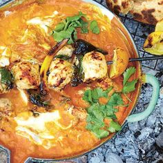 Jamie Oliver has the ultimate chicken tikka masala recipe in his Comfort Food cookbook. It is a rich, warming dish, which has topped the favourite British food charts for many years. With Jamie's simple tikka masala recipe, you can recreate this delicious chicken cu…