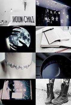 Moon and stars, books and boots, there's no way to better explain Ruby. Mystery and writing. Moon and stars, books and boots, there's no way to better explain Ruby. Mystery and writing. Witch Aesthetic, Aesthetic Collage, Night Aesthetic, Wicca, Magick, Moon Witch, Moon Child, Ravenclaw, Constellation