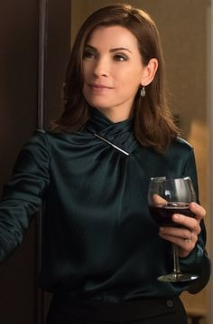 Wine is part of our modern lifestyle... Julianna Margulies as Good Wife