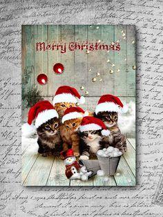 Edition spéciale noël 2014, carte postale format 10 x 15 cm : Cartes par fabienne-botte
