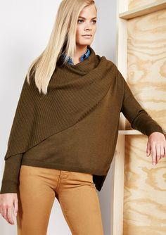 On ideeli: ADDISON Loomis Overlay Sweater