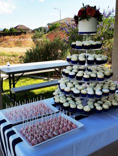 Weeding cake, cupcakes and cake pops June 2015