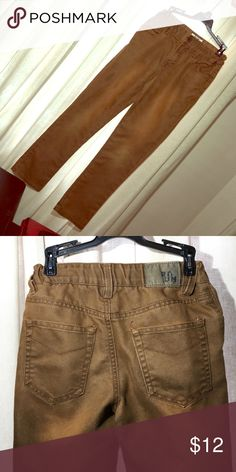 Burnt Orange Boy's jeans SZ 8. RUUM Like new! Boys burnt orange jeans. Adjustable waist RUUM Bottoms Jeans