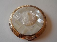 Vintage Mother Of Pearl Peacock Gold by OurVintageBoutiqueUK, £36.00
